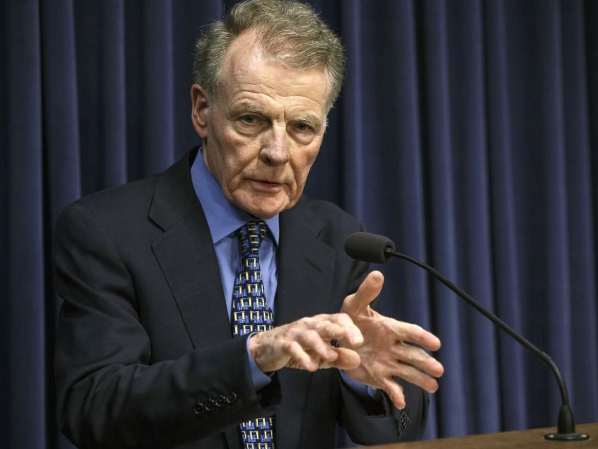 Good time in Illinois history to vote out Mike Madigan as Speaker of the House