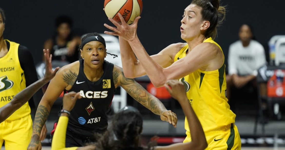 Breanna Stewart leads Storm to second WNBA title in three years in sweep over Aces