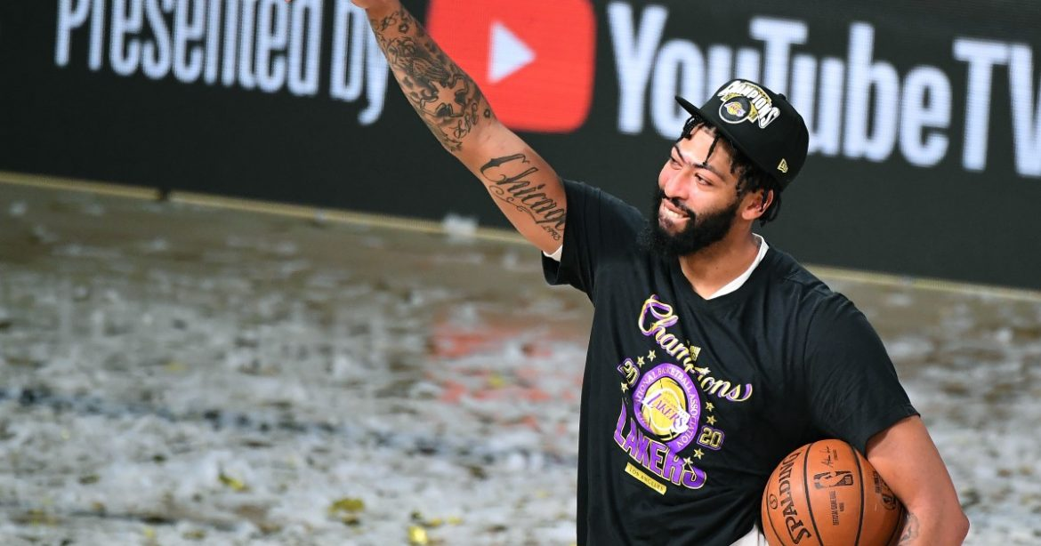For the Lakers, it's all about Anthony Davis moving forward
