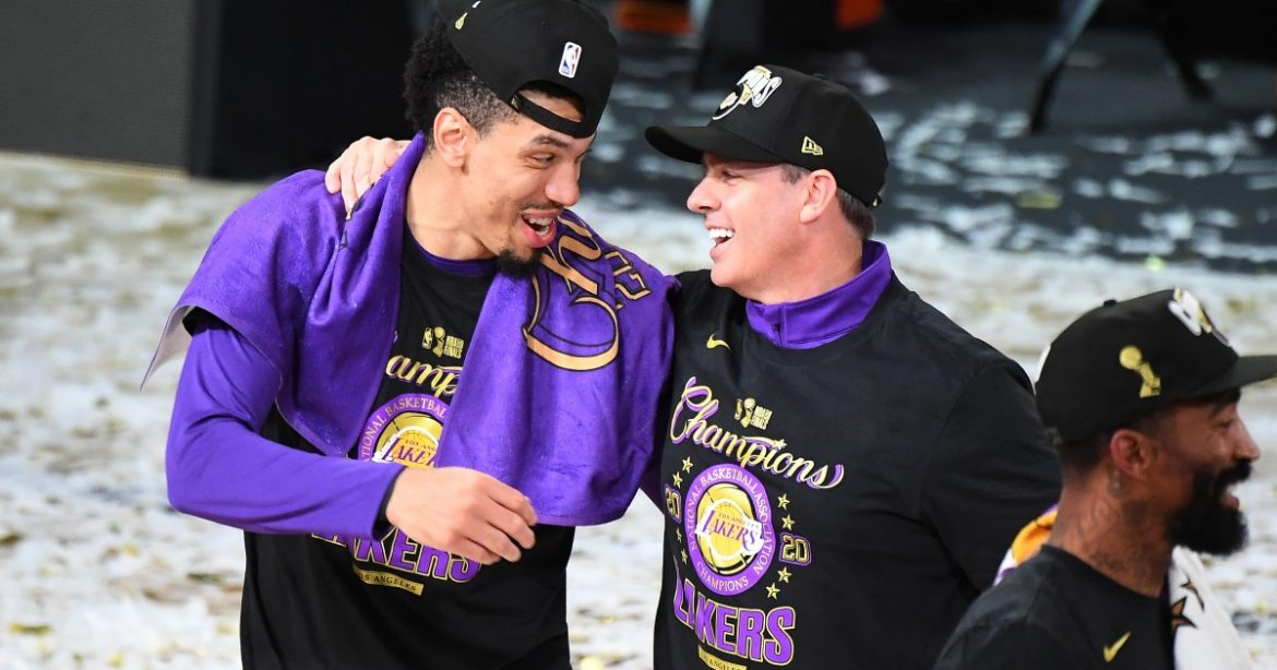 Lakers' Danny Green working to change perception of Black men