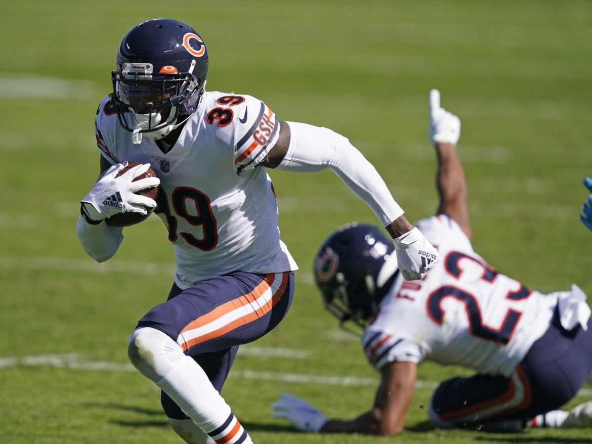 Bears' Eddie Jackson, Danny Trevathan chirp at officials after beating Panthers