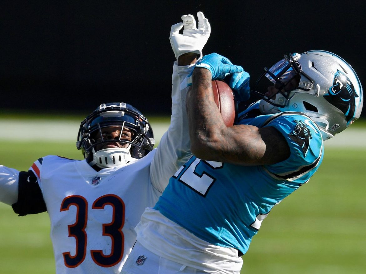 Bears' Jaylon Johnson is NFL's top rookie CB, just as he expected all along