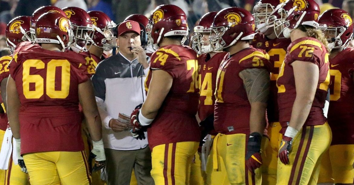 USC's Clay Helton says new eligibility rules will help players and coaches