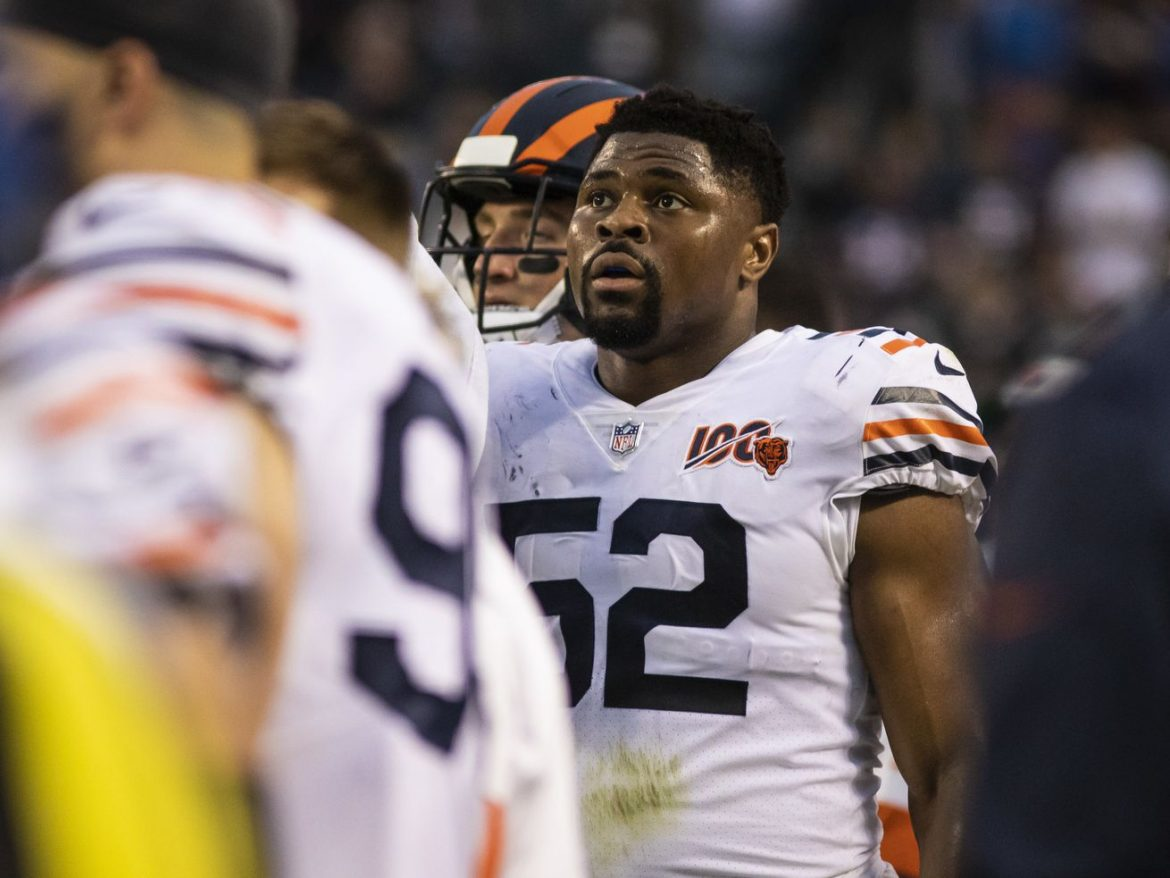 Bears star Khalil Mack promises defense on brink of flood of 'huge' plays