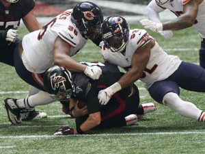 Bears stars Khalil Mack, Akiem Hicks miss practice ahead of Rams game