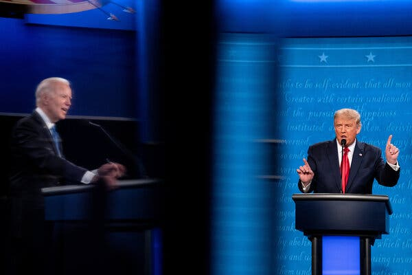 Trump Tried to Blur Responsibility for His Family Separation Policy in Final Debate
