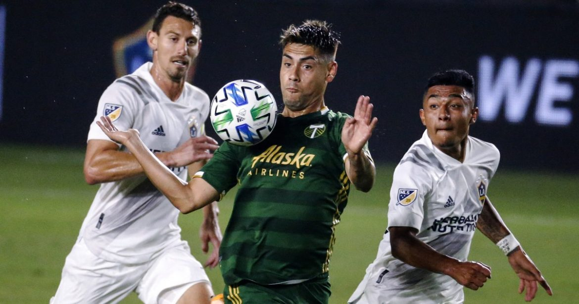 Galaxy give up six goals against Timber, take fifth loss in a row