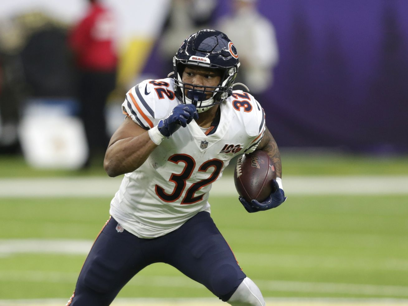 Snap Judgment: What little run game Bears have depends on David Montgomery