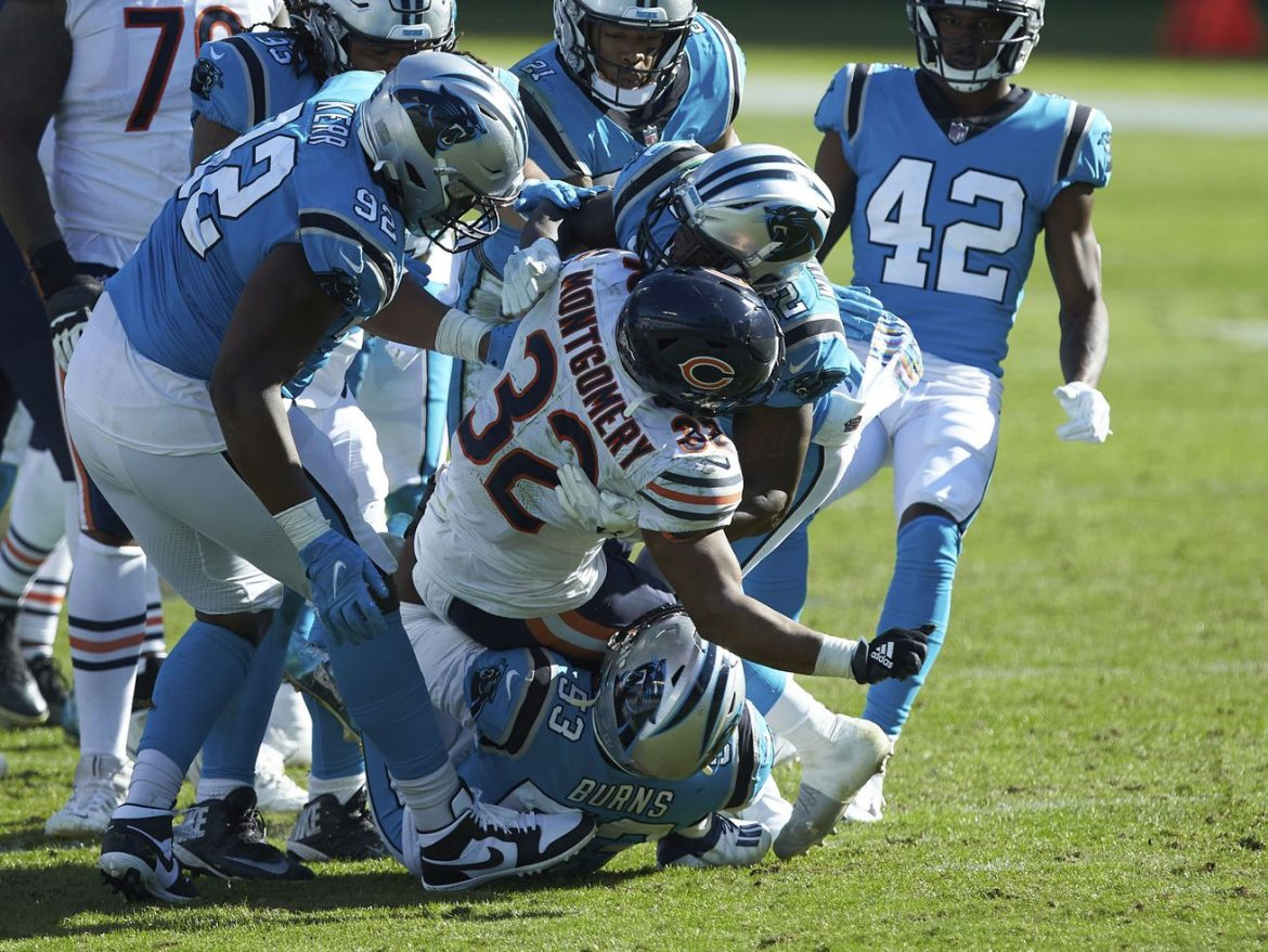 Alert: Bears' running game jumps from 2.5 to 2.52 yards per carry vs. Panthers