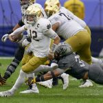 No. 3 Notre Dame rides big plays to rout of Pitt