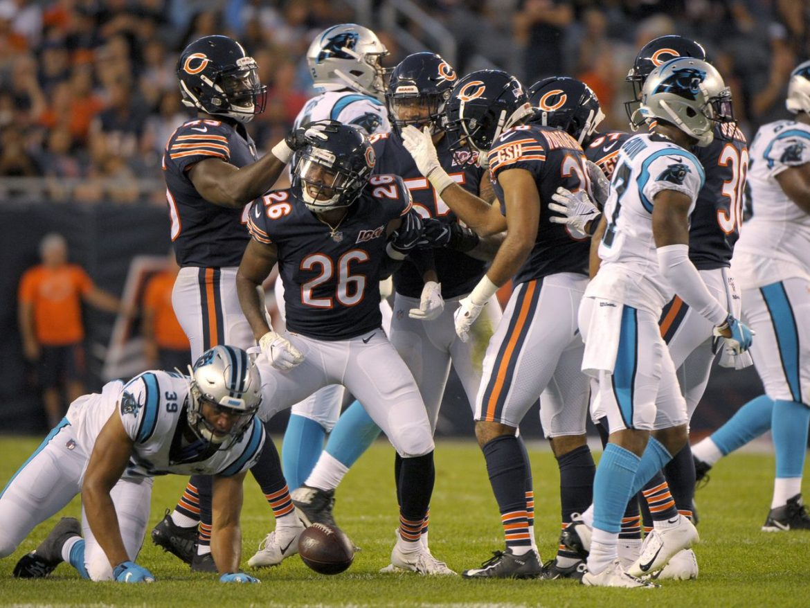 Bears to proceed practicing for Panthers game after no additional COVID positives