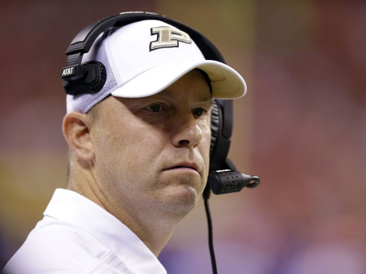 Purdue coach Jeff Brohm will miss opener against Iowa after 2nd positive COVID-19 test