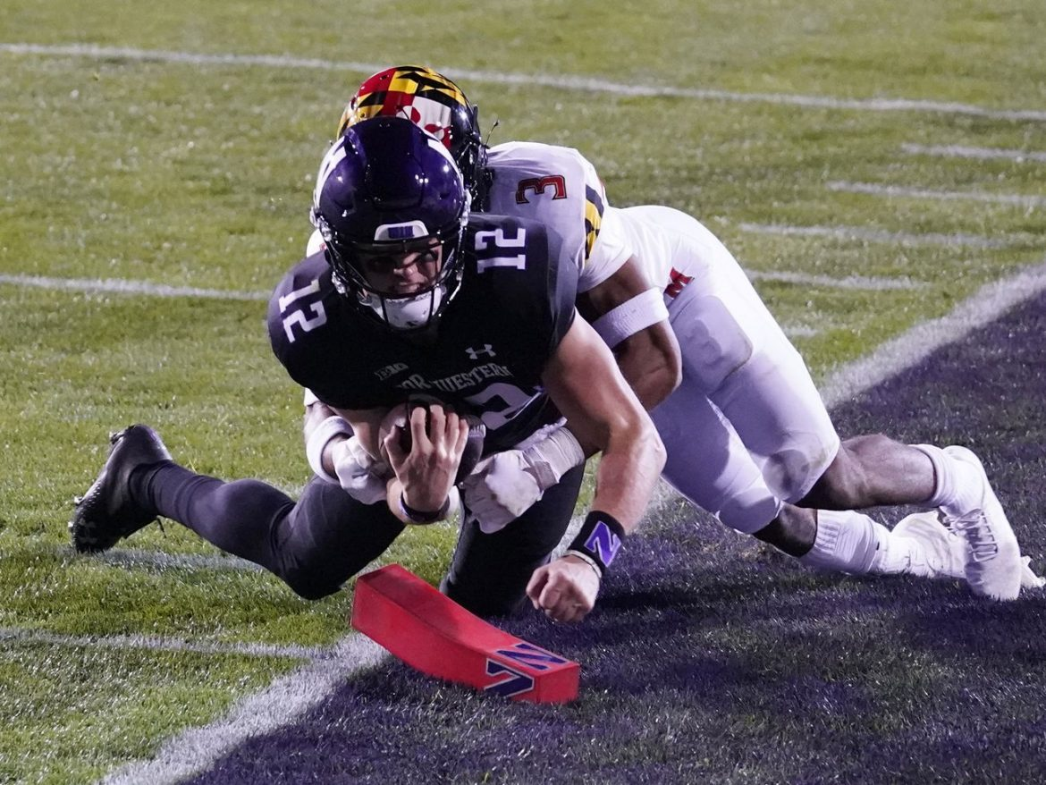 Ramsey, Anderson lead Northwestern in rout of Maryland