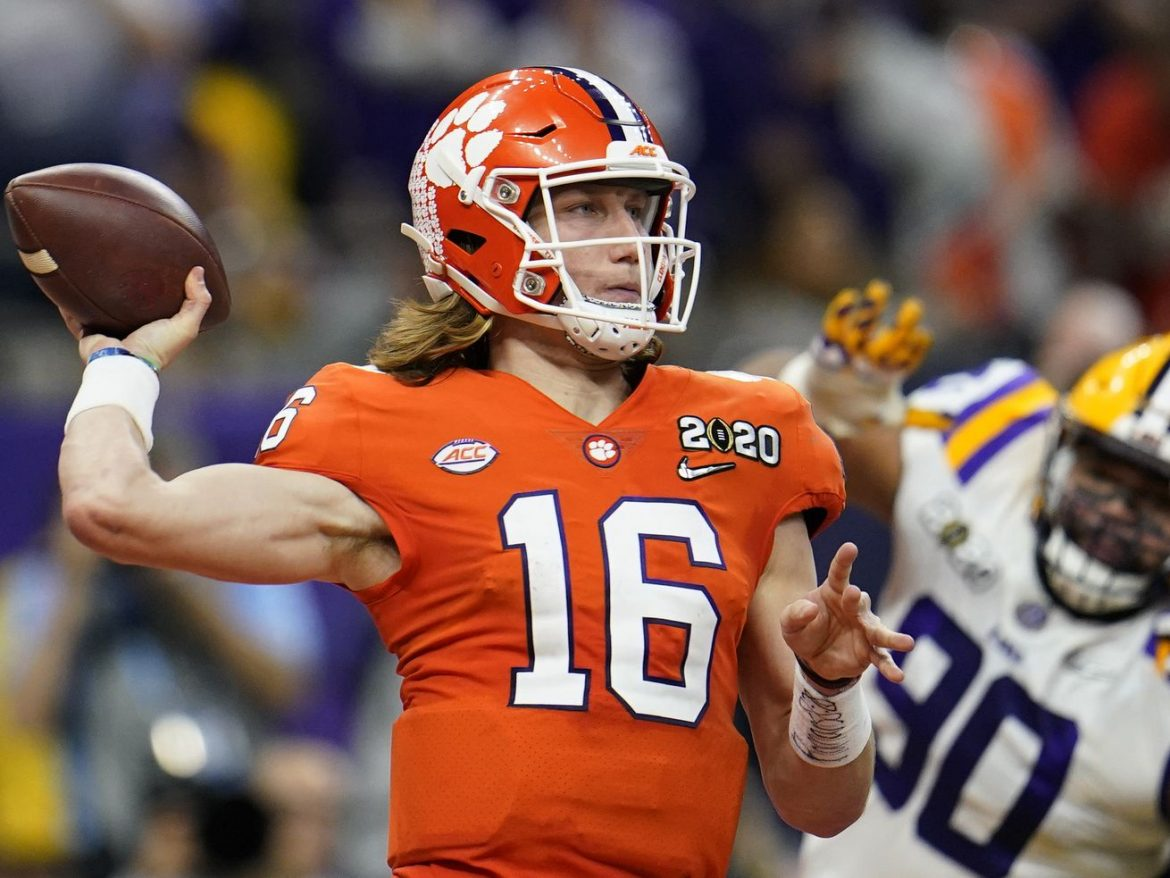 Trevor Lawrence won't play vs. No. 4 Notre Dame because of COVID-19 protocols