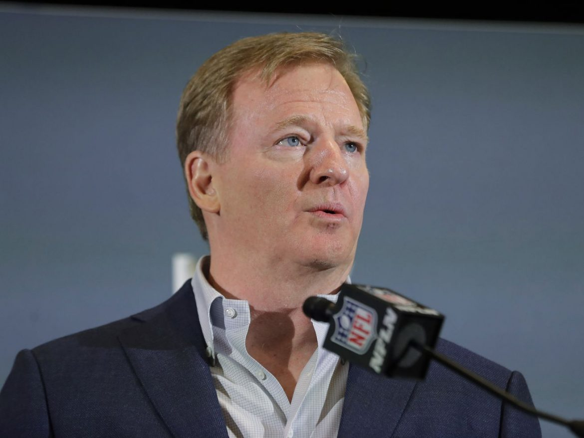 NFL coronavirus protocol violations could result in forfeits, commissioner Roger Goodell says