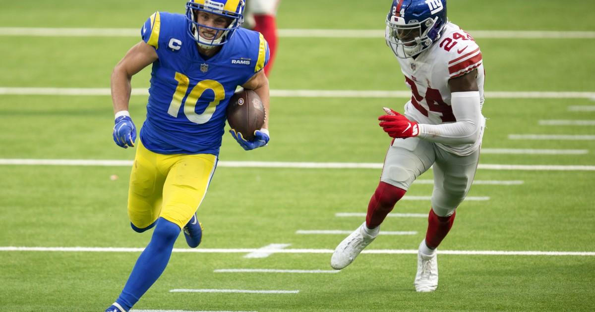 Better late than never: Rams increase tempo on offense to seal win over Giants