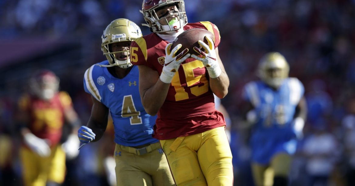 Drake London looks to play an important, and still evolving, role for USC