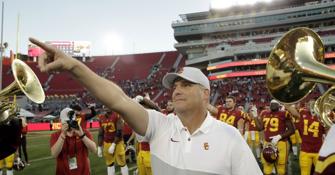 Clay Helton and USC won big this offseason. But now comes the hard part