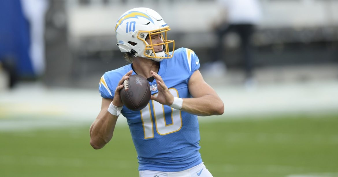 A 'relaxed' Justin Herbert is ready to win some games for Chargers