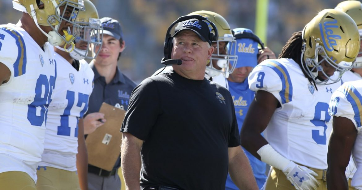 For UCLA's Chip Kelly, success could be simply playing football games