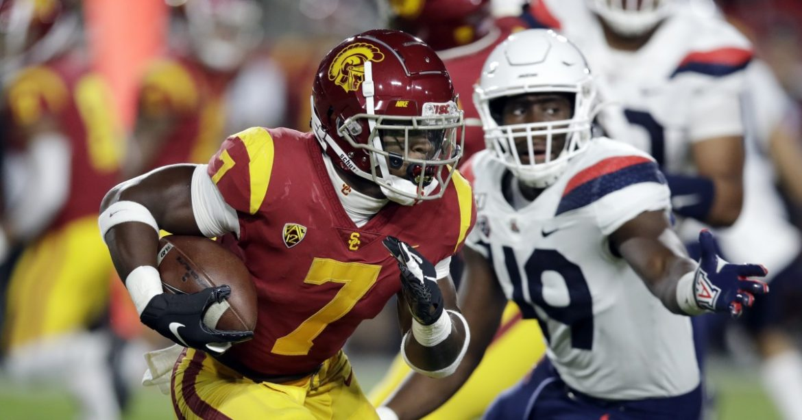 USC issued a challenge to running backs, and senior Stephen Carr has answered it