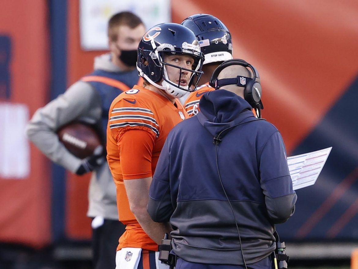Bears hope practice time helps QB Nick Foles dial in