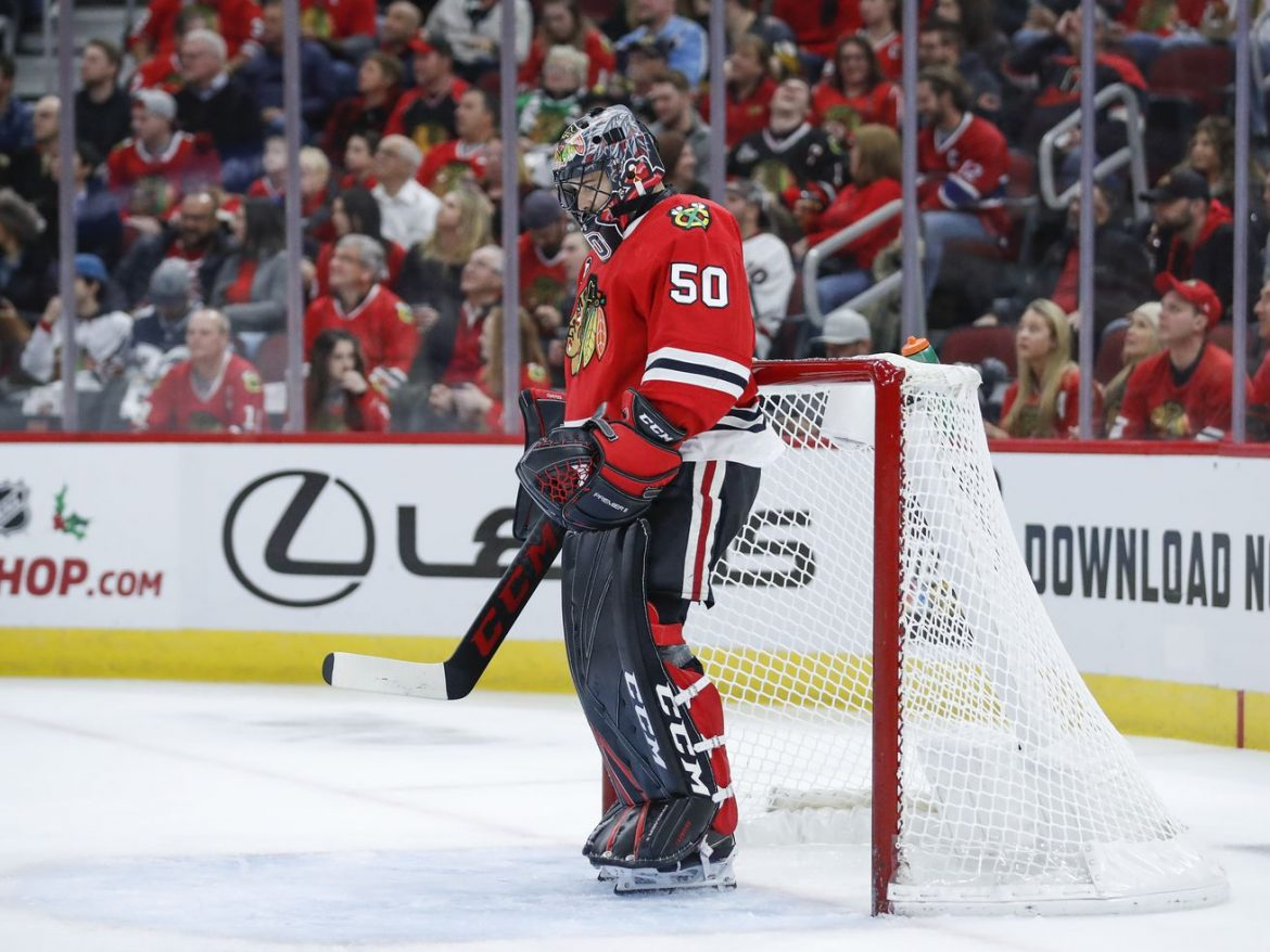 Corey Crawford's whirlwind 2020, from coronavirus to the bubble, ends in New Jersey