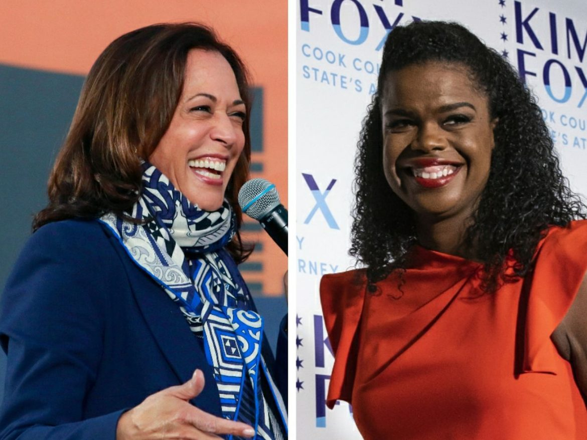 Harris makes robocall pitch in heated state's attorney's race: 'I choose to stand behind my friend, Kim Foxx, and I hope you'll join me'