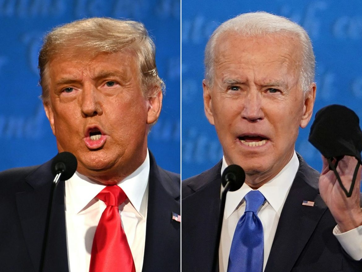 Trump and Biden show they can disagree without being quite so disagreeable