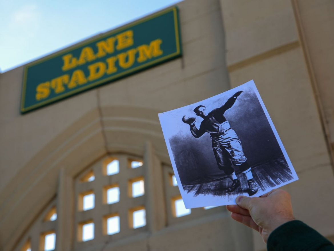 Lane football field would be named for 1912 grad who was 1st Black QB, coach in NFL under alumni proposal