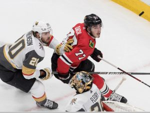 Blackhawks forward Kirby Dach added to Canadian junior team