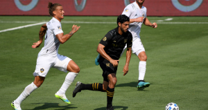 Danny Musovski and Carlos Vela score in LAFC's win over Galaxy