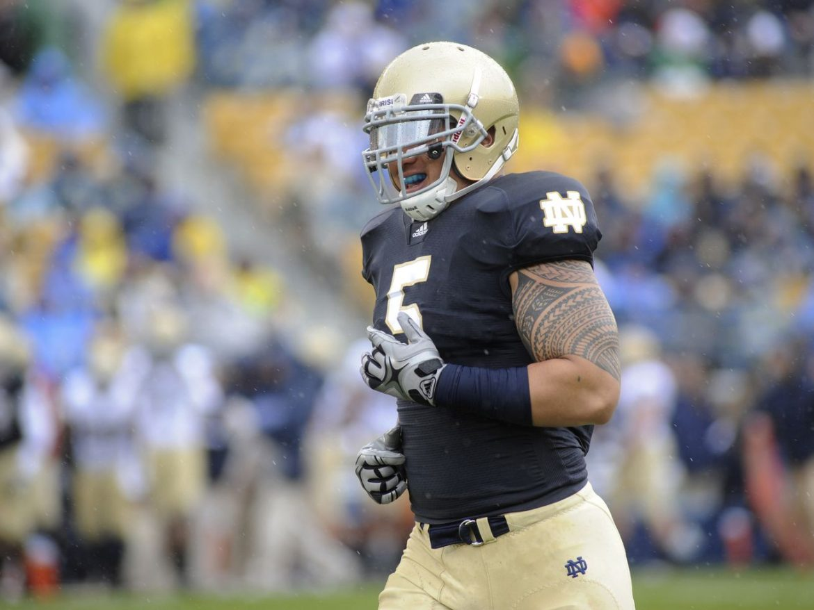 Bears give tryout to former Notre Dame star Manti Te'o, 2 other linebackers