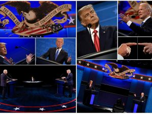 Sounds of silence: Watching debate without audio tells us a lot about Trump and Biden