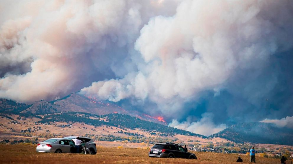 Homes believed lost in north-central Colorado fires