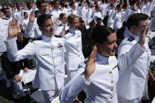 Black Woman, for First Time, Will Lead Midshipmen at the U.S. Naval Academy
