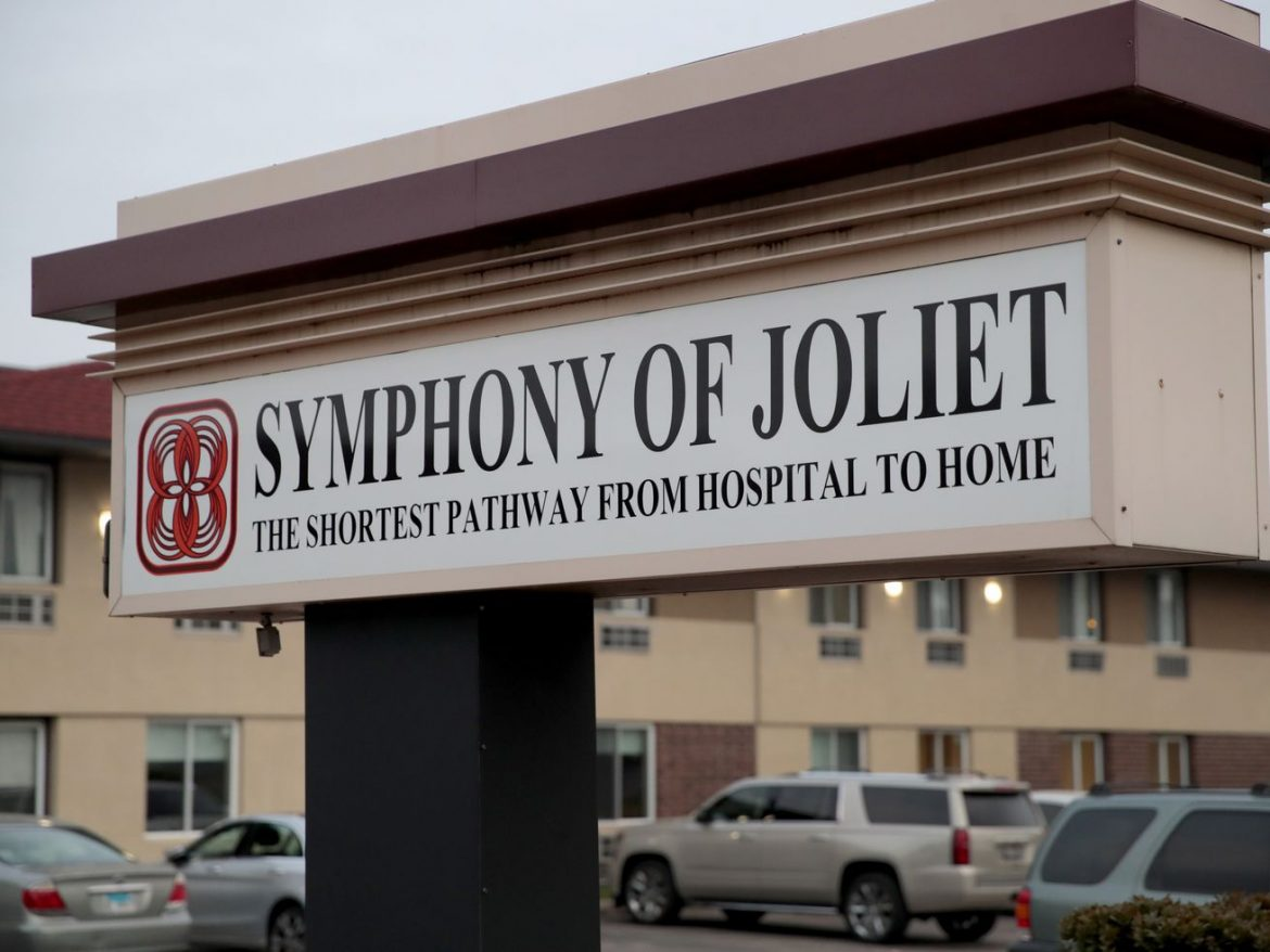 Symphony nursing home chain has 5 homes in Chicago among state's 25 hardest hit by COVID