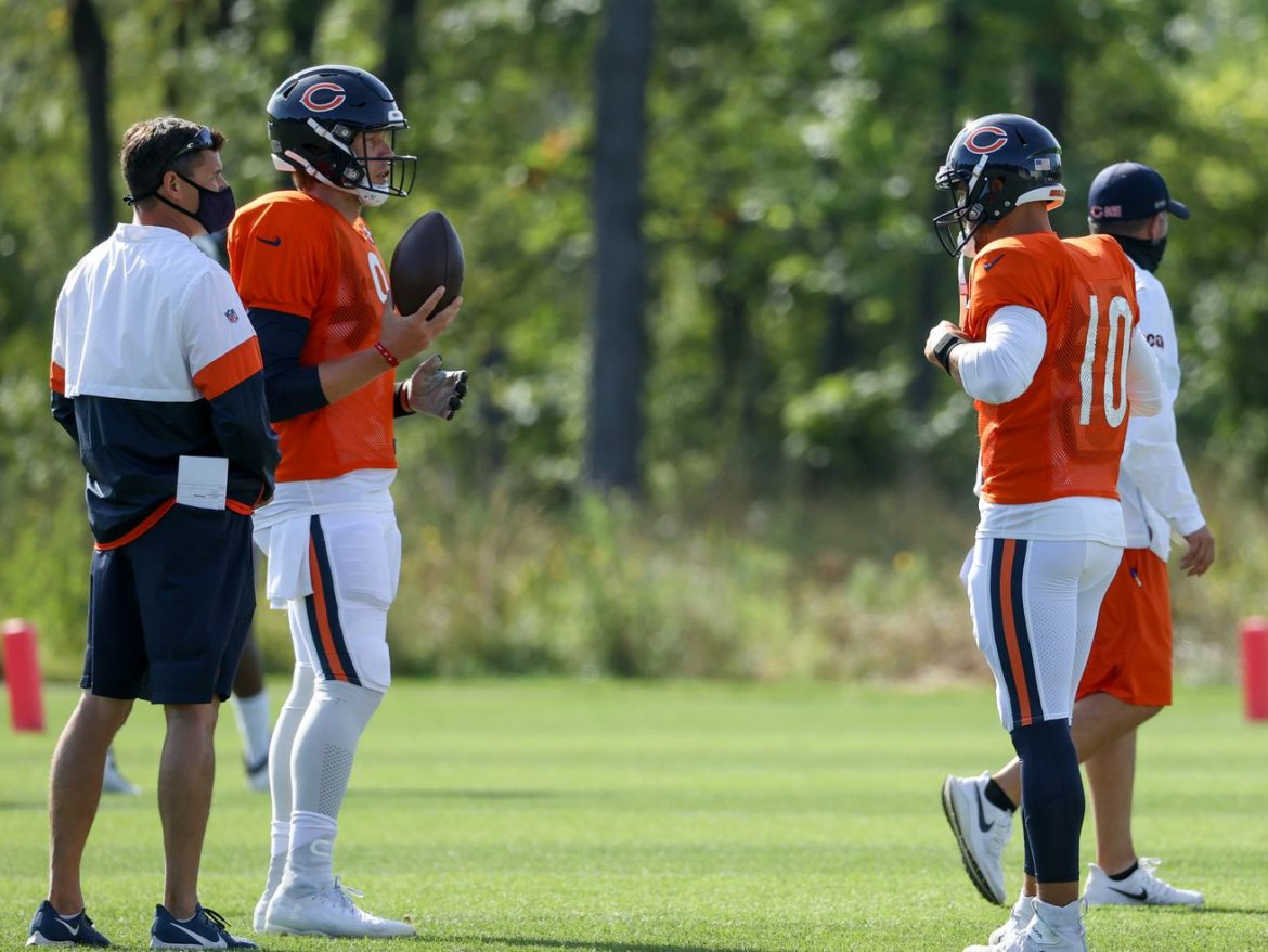 After a dud, Bill Lazor must find best way to use Mitch Trubisky