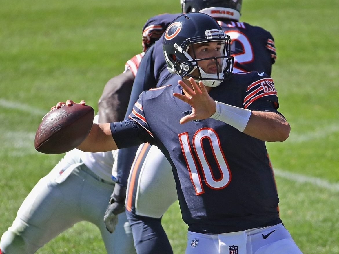 Mitch Trubisky headed for an imperfect second chance with Bears