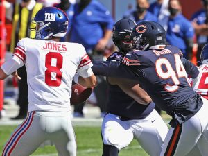 Bears' Robert Quinn hoping to pick up pace