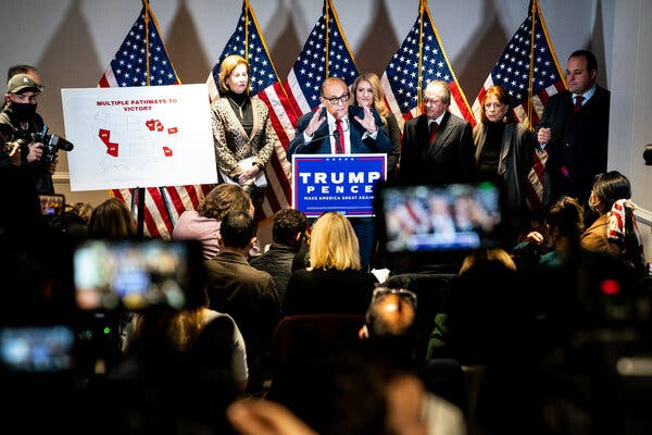 Trump Targets Michigan in His Ploy to Subvert the Election