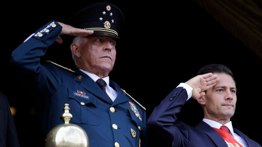 Ex-Mexican military boss pleads not guilty in US drug case