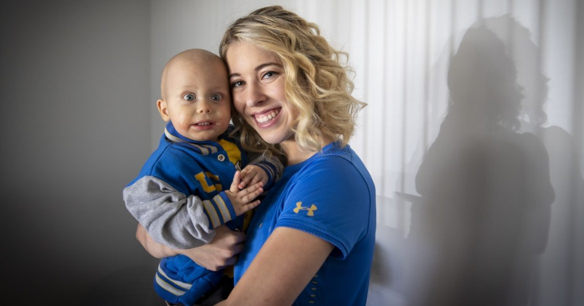 Baby Liam, who inspired UCLA's women's gymnastics team, dies at age 2