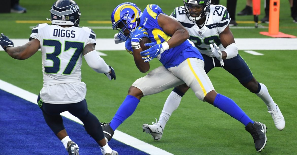 Rams' 23-16 victory over the Seattle Seahawks by the numbers