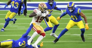 Rams can't stop 49ers' Deebo Samuel from catching defense off guard