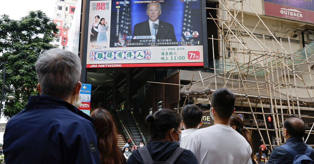 Chinese State Media Reacts to Biden Victory With Cautious Optimism