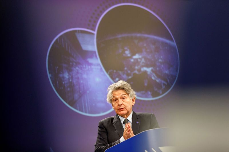 EU Industry Commissioner Breton: 50/50 chance of a Brexit deal