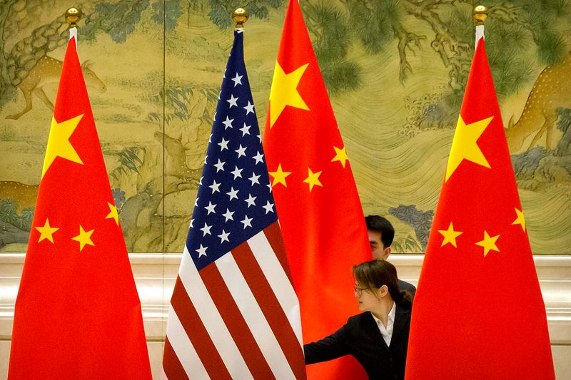 China says U.S. should stop unreasonably suppressing Chinese firms