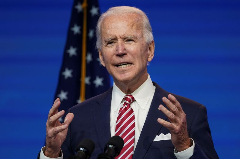 Biden says U.S., allies need to set global trade rules to counter China's influence