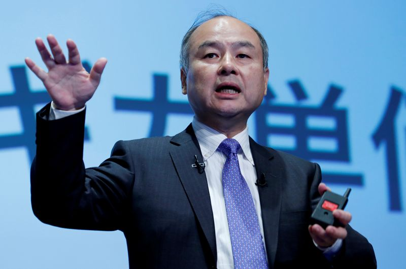 SoftBank's Son wants to deploy cash on public and private firms